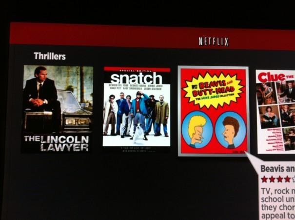 Netflix recommendation - Thrillers