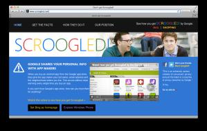 scroogled.com screenshot